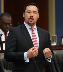 Trinidad and Tobago's National Security Minister Stuart Young