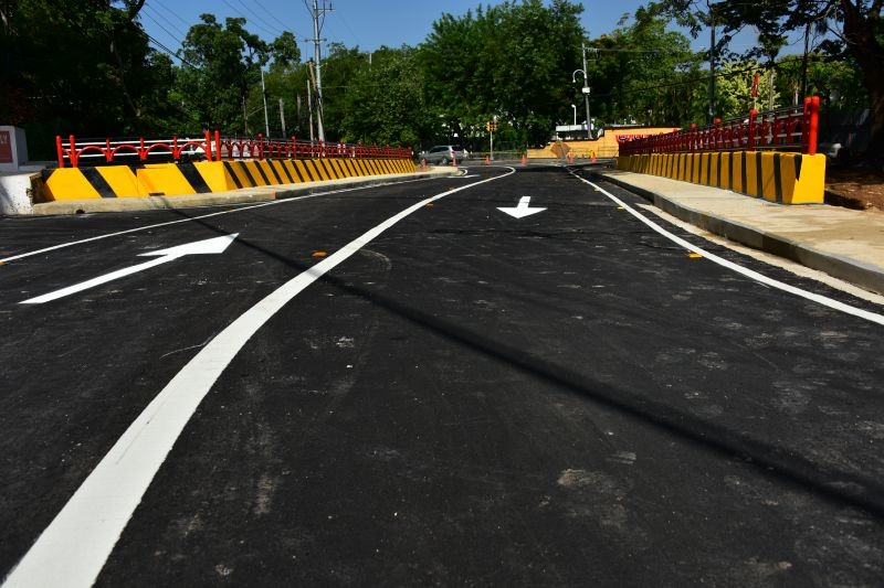Lake Asphalt's products are used on highways and roads in TT and world-wide.                                     (Photo: Ministry of Works and Transport, Government of Trinidad and Tobago)